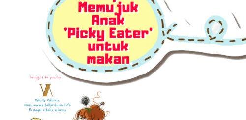 Tips Memujuk Anak Picky Eater untuk makan