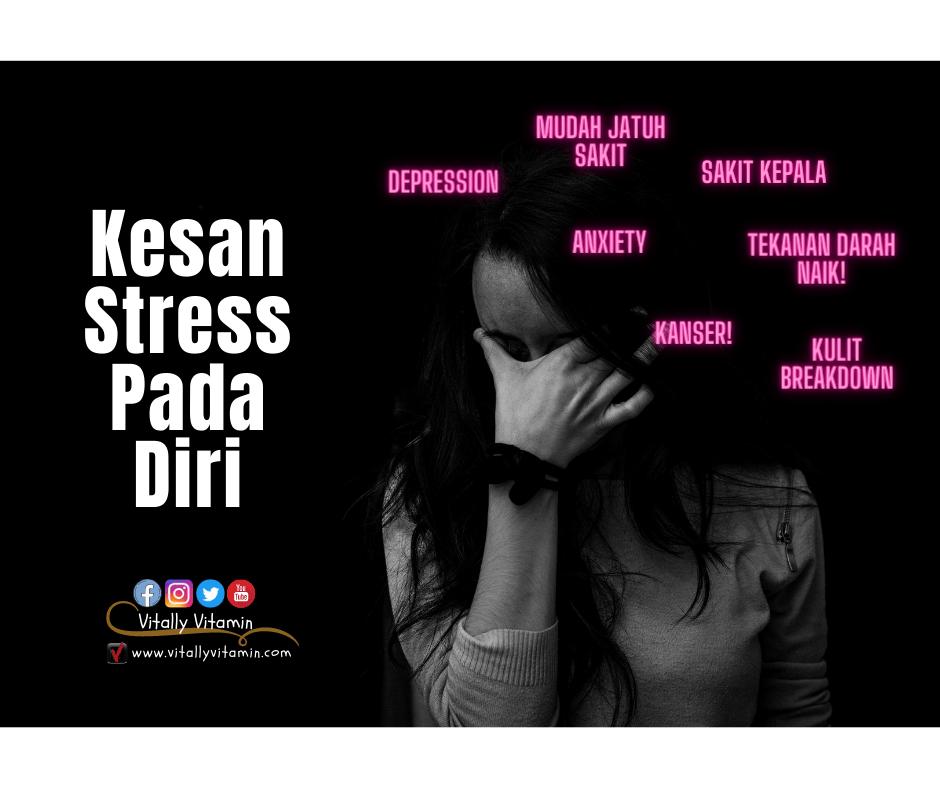 Kesan Stress Pada Diri, pengedar shaklee chemor, vitally vitamin, baizura bahar